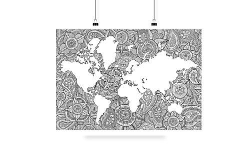 Image result for em carey world map