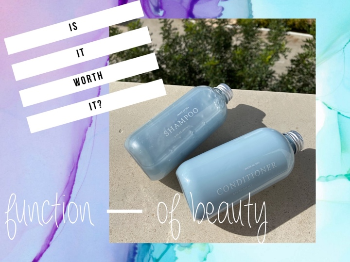 ISITWORTHIT? : function of beauty(REVIEW)